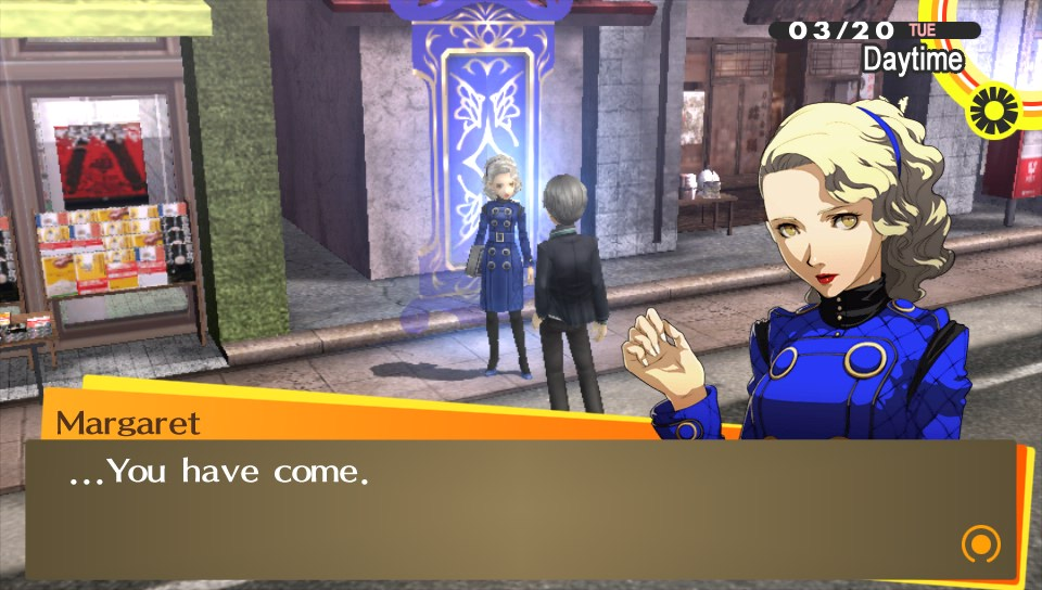 Persona 4 golden dating rise