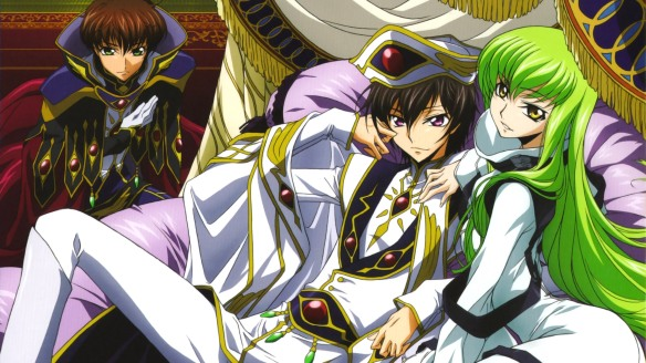 When It Comes To Anime Shows About Large Robots Fighting You Wont Be Looking Around The Genre Long Before Come Across Code Geass