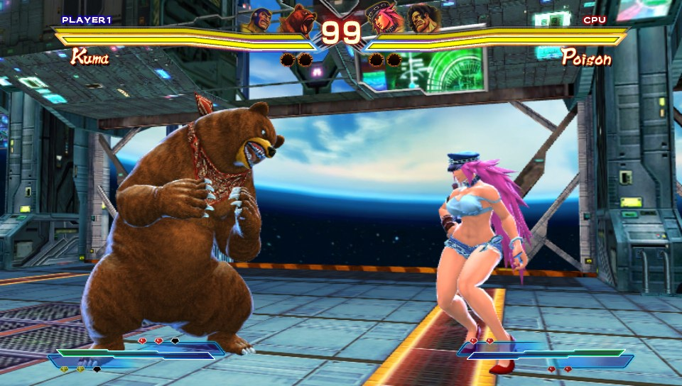 review street fighter x tekken dracula s cave