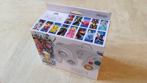 GameCube Smash Bros white controller