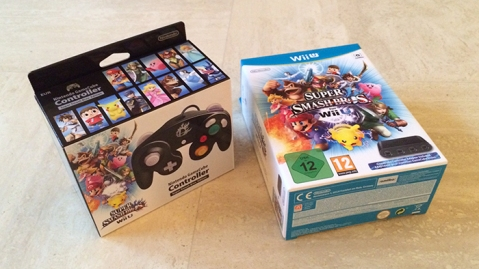 Super Smash Bros Wii U GameCube