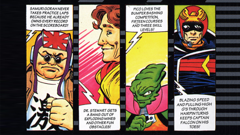 F Zero comic 1