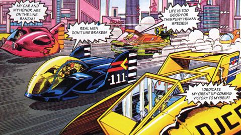 F Zero comic 2