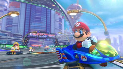 F Zero Mario Kart