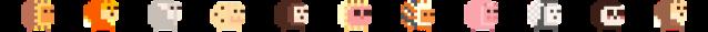 LQVE Lion Quest characters